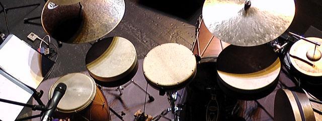Nora Thiele Oriental Historical Percussion Frame Drum Set
